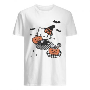 Hello Kitty Trick or Treat Halloween Shirt Classic Men's T-shirt