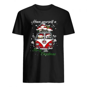 Hippie car Harry Potter Have yourself a Merry little Christmas  Classic Men's T-shirt