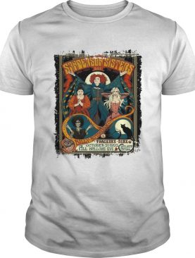 Hocus Pocus Sanderson sisters live back from the dead shirt
