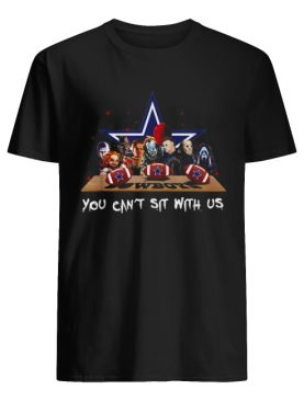 Horror Movies characters you can sit with US Cowboys shirt
