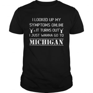 I looked up my symptoms online it turn out just wanna go to Michigan  Unisex