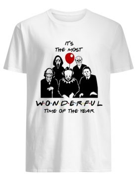 It's the most wonderful time of the year Horror character movie shirt