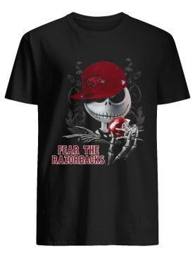Jack Skellington Fear The Razorbacks Shirt