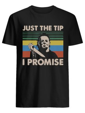 Jason Voorhees just the tip I promise vintage shirt