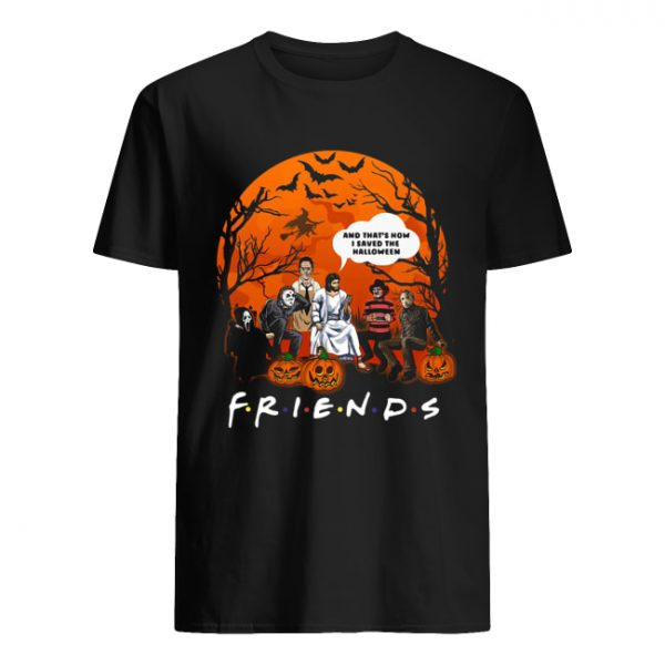 Jesus that's how I saved the halloween Horror characters  Classic Men's T-shirt