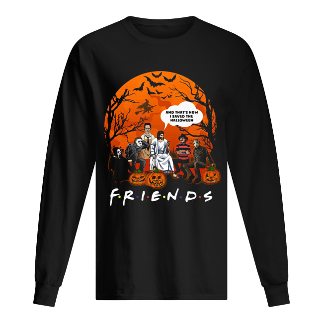 Jesus that's how I saved the halloween Horror characters Long Sleeved T-shirt