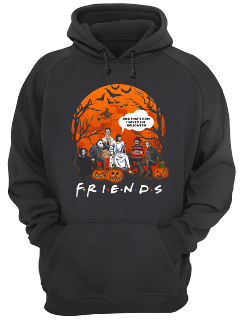 Jesus that's how I saved the halloween Horror characters  Unisex Hoodie