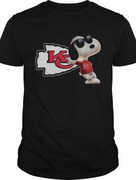 Kansas City Chiefs NFL Snoopy shirt