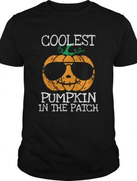 Kids Coolest Pumpkin In The Patch Halloween Costume Boys Gift TShirt