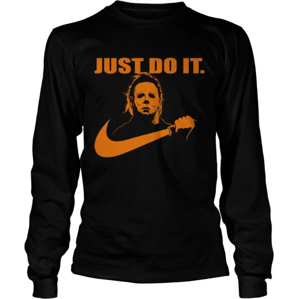Michael Myers Just do it Nike Halloween  LongSleeve