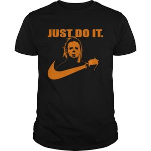 Michael Myers Just do it Nike Halloween  Unisex
