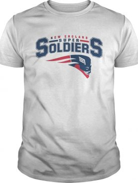 NEW ENGLAND SUPER SOLDIERS T SHIRT
