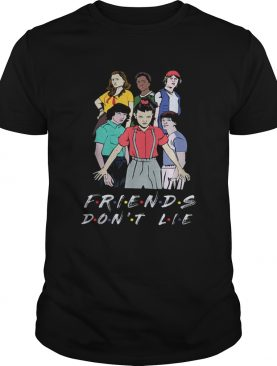 Nice Friends Dont Lie Movie Lover Stranger shirts