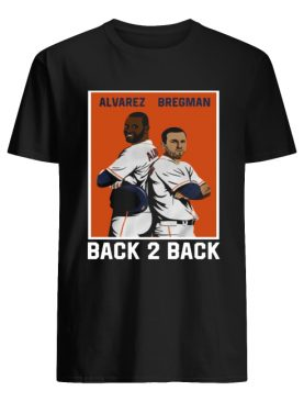 Official Alvarez Bregman Back 2 Back Shirt