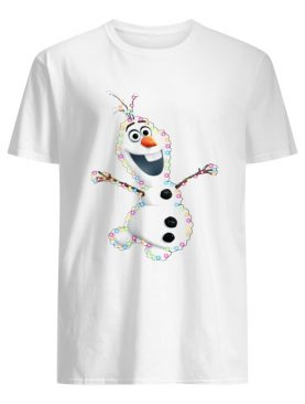 Olaf Christmas light shirt