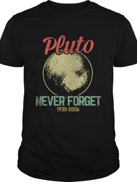 Retro Vintage Never Forget Pluto Funny Astronomy Science Lovers Gift TShirt