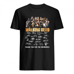 10th Anniversary Walking Dead Thank You For The Memories Shirt Classic Men's T-shirt