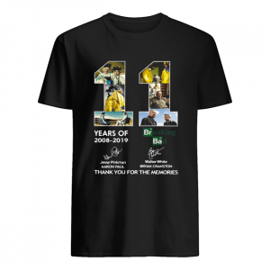 11 Years of Breaking Bad thank you for the memories  Classic Men's T-shirt
