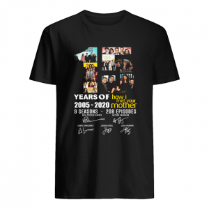 15 Years of how I met your mother 2005-2020  Classic Men's T-shirt