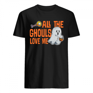 All The Ghouls Love Me Halloween T-Shirt Classic Men's T-shirt