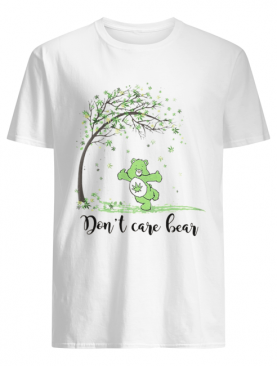 Autumn weed tree don't care bear shirt