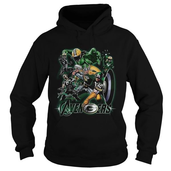 Avengers Green Bay Packers  Hoodie