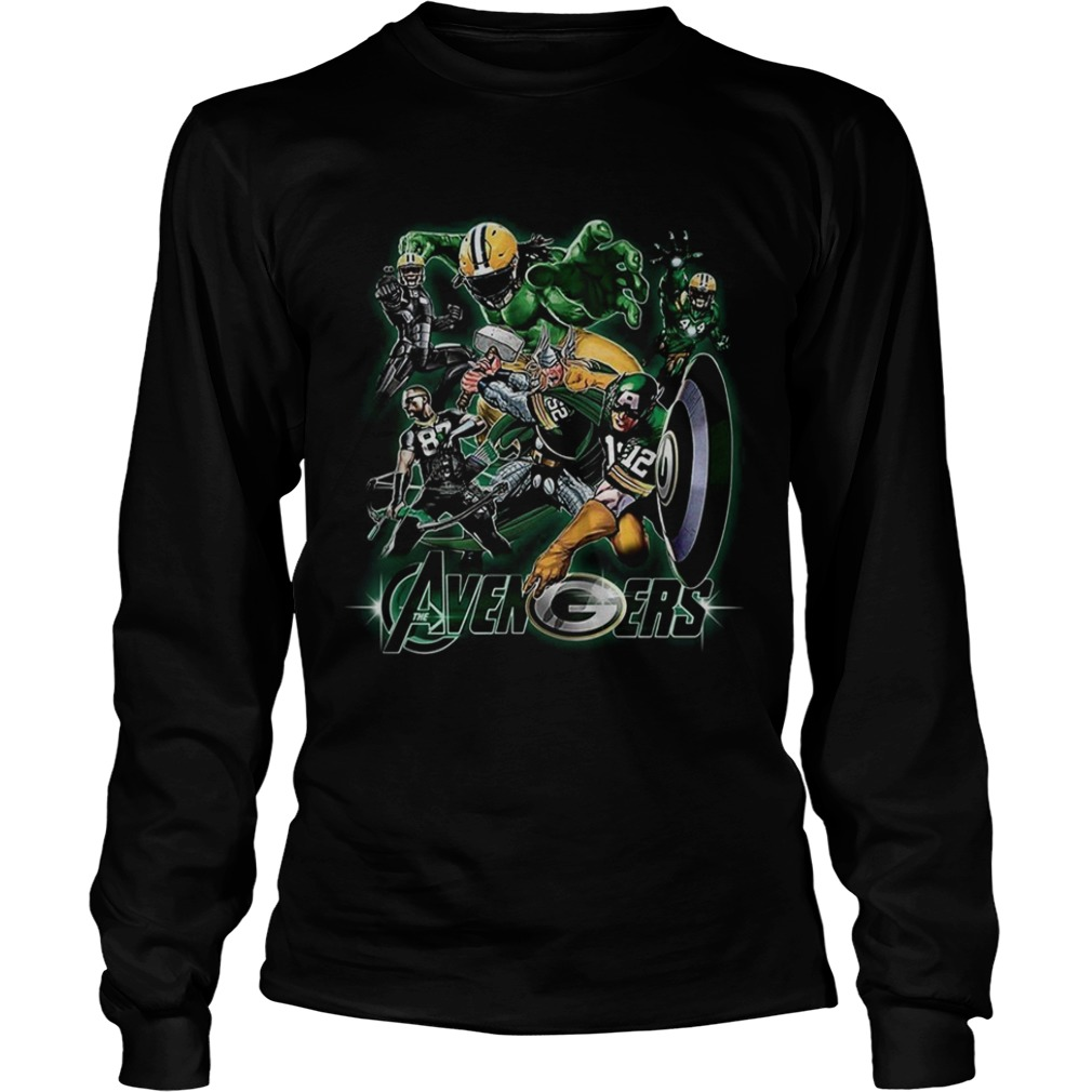 Avengers Green Bay Packers LongSleeve