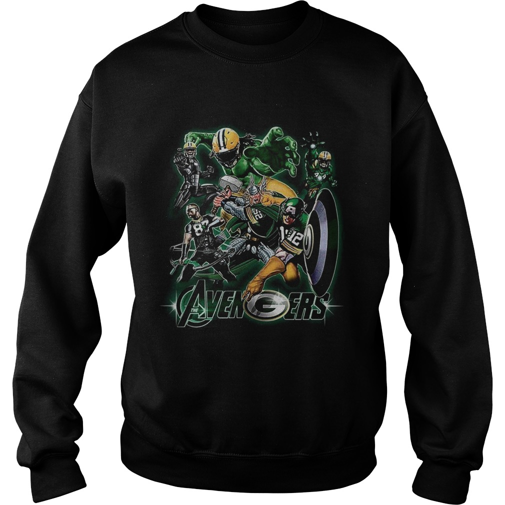Avengers Green Bay Packers Sweatshirt