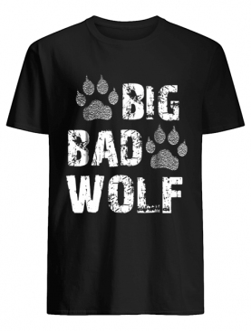 Big Bad Wolf Paw Print Halloween Costume shirt
