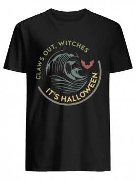 Claws out witches it's Halloween vintage shirt