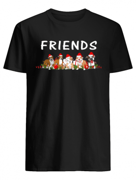 Dogs Christmas Friends shirt