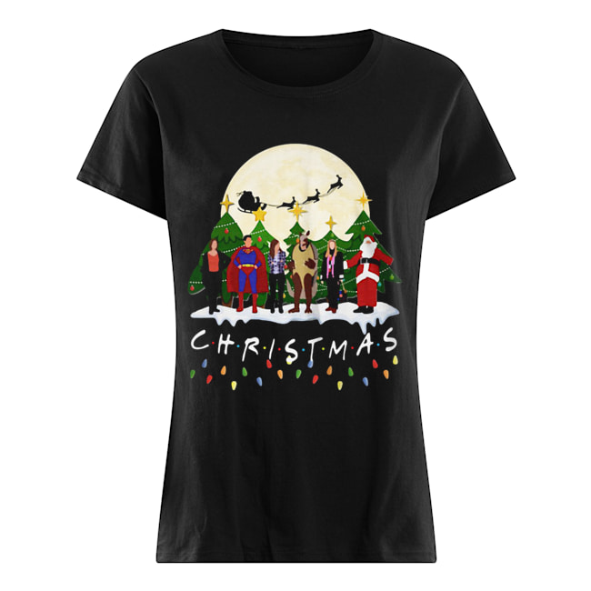 Friends Christmas the one with halloween party Classic Women's T-shirt