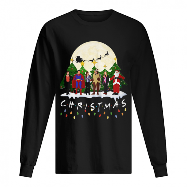 Friends Christmas the one with halloween party  Long Sleeved T-shirt