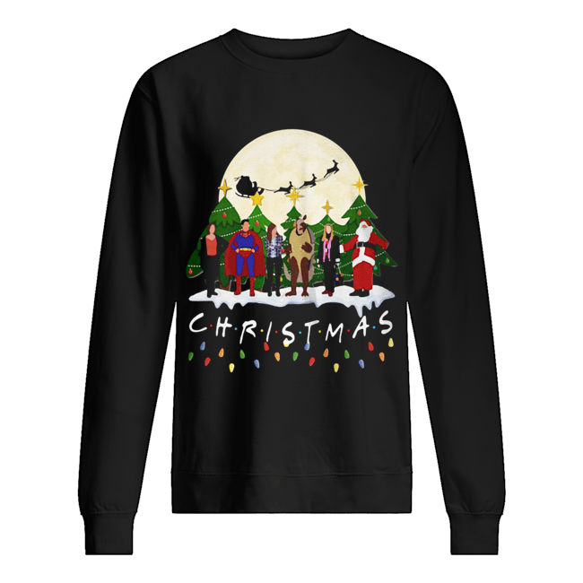 Friends Christmas the one with halloween party Unisex Sweatshirt
