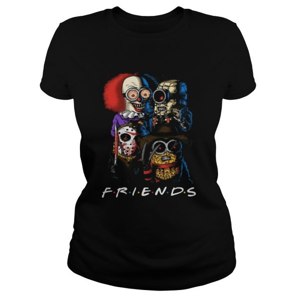 Friends Minions horror movie characters  Classic Ladies