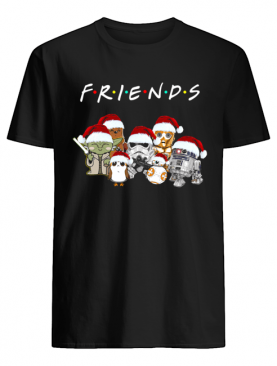 Friends Star Wars All Characters Christmas shirt