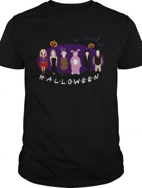 Friends characters in Halloween costumes shirt