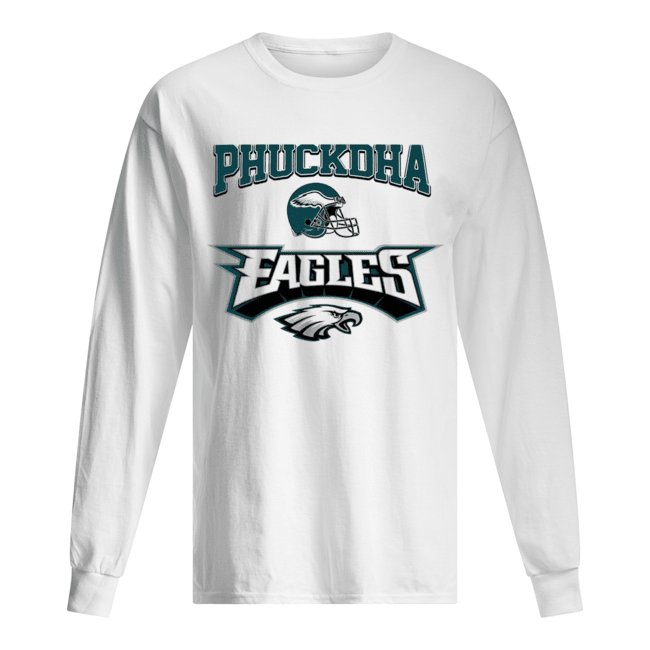 Fuck DA Philadelphia Eagles Long Sleeved T-shirt