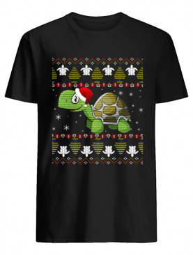 Funny Turtle Ugly Christmas for Kids and adults T-Shirt