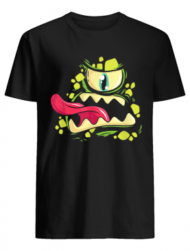 Green Monster Cyclops Gift For Halloween Party shirt