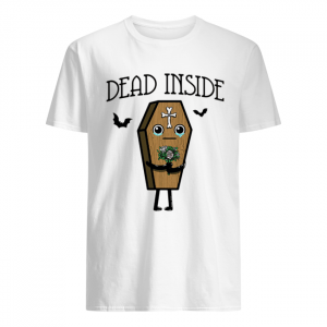 Halloween Coffin dead inside  Classic Men's T-shirt