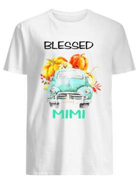 Halloween Women Mom Blessed Mimi Est 2019 T-Shirt