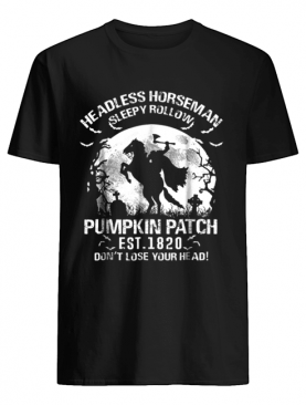 Headless Horseman Halloween Pumpkin Ale 2018 shirt