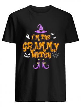 I'm The Grammy Witch Group Costume Halloween shirt