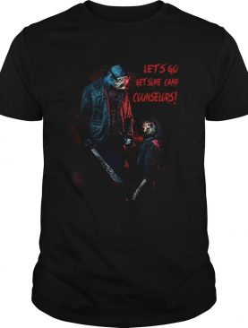 Jason Voorhees lets go get some camp counselors shirt