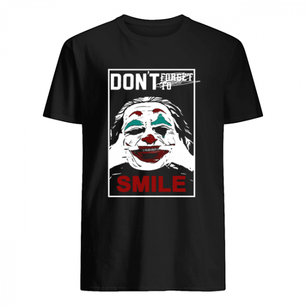 Joker don't forget to smile  Classic Men's T-shirt