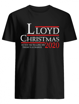 Lloyd Christmas 2020 shirt