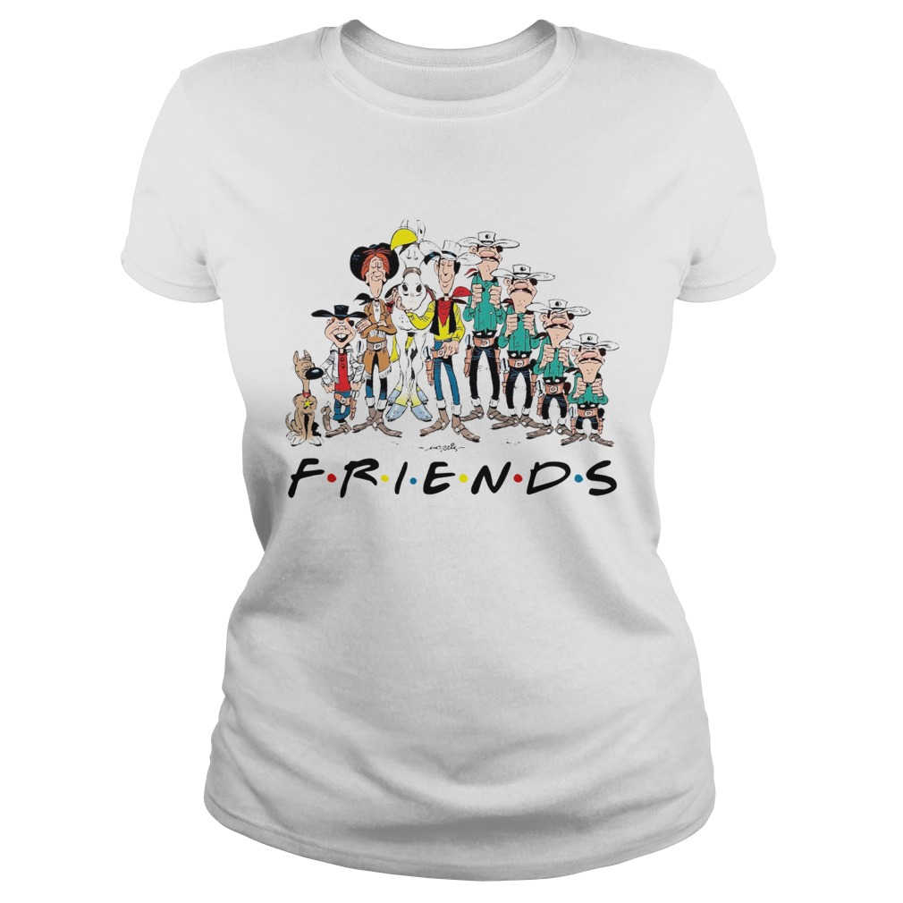 Lucky Luke all characters friends Classic Ladies