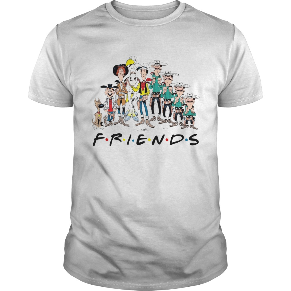 Lucky Luke all characters friends Unisex