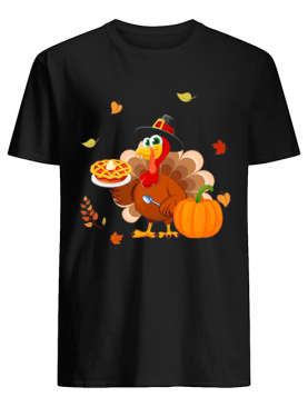 Lunch Lady Turkey Thanksgiving Gift T-Shirt